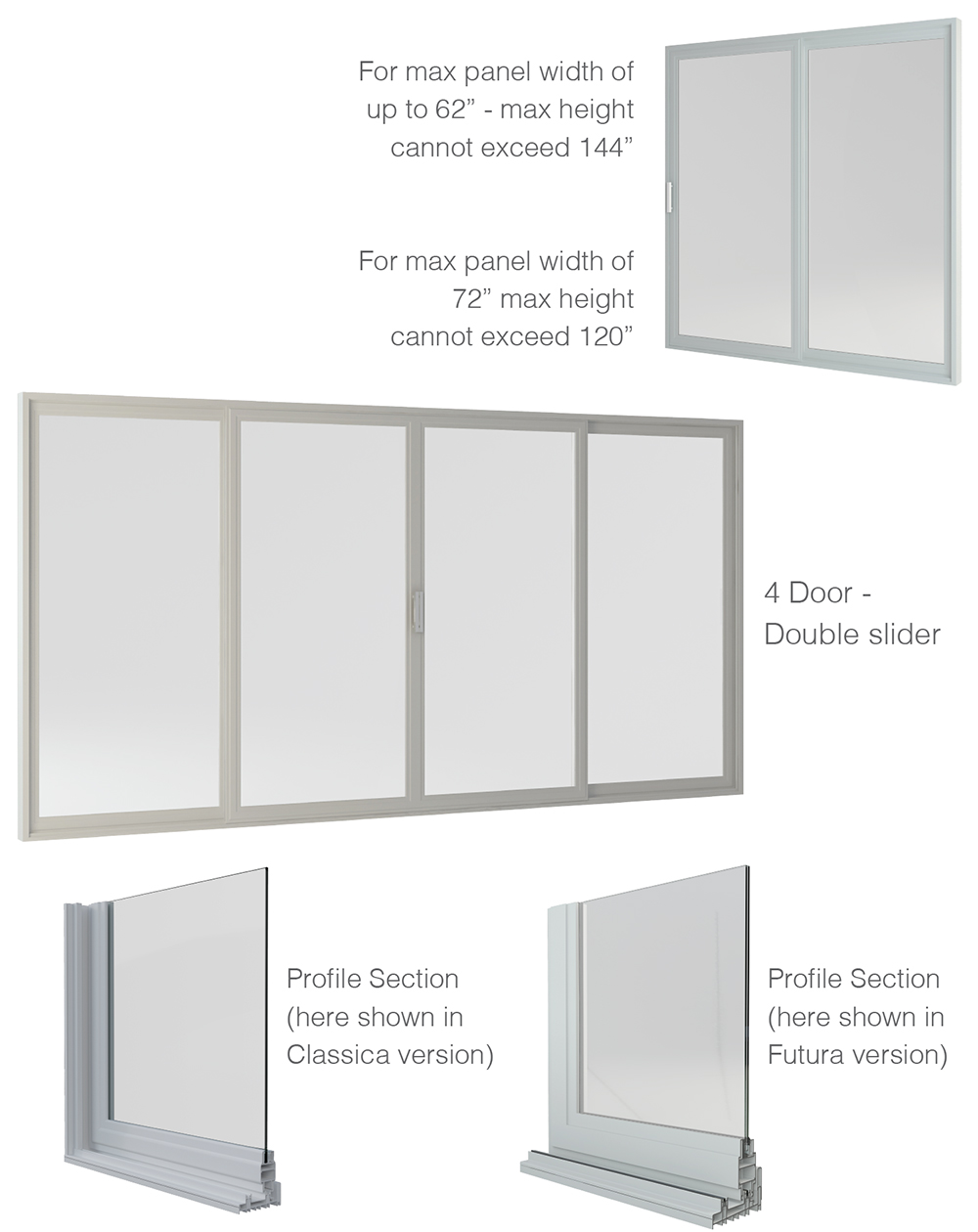 La finestra product information sliding glass doors la finestra has complemented its line of products with a sliding glass door that combines high performance with the aesthetics that characterize all our planetlyrics Images
